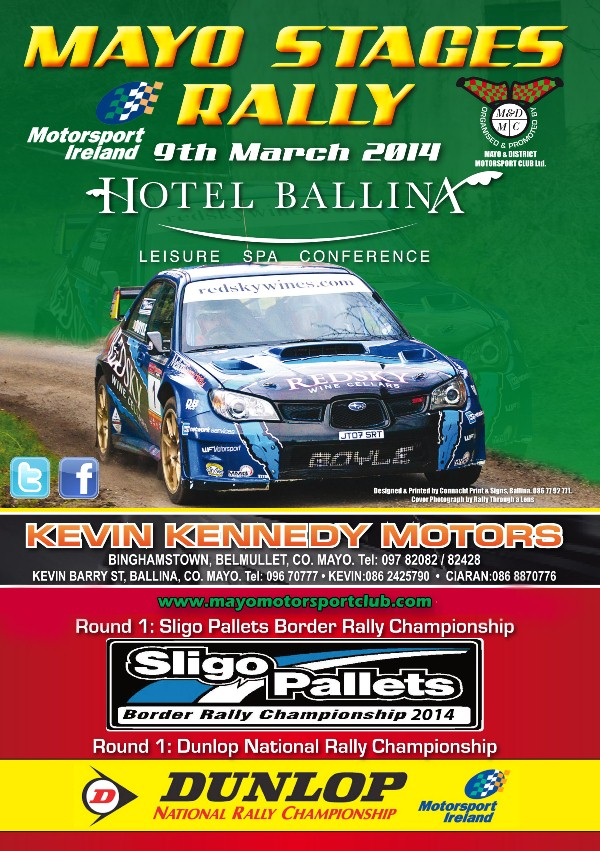 rally.ie - Stories - Mayo Stages Rally - 9 Mar 14