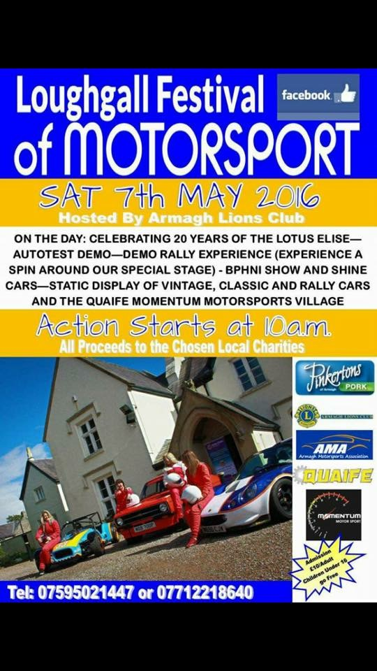 rally.ie - Stories - Loughgall Festival of Motorsport - (Sat) 7 May 16