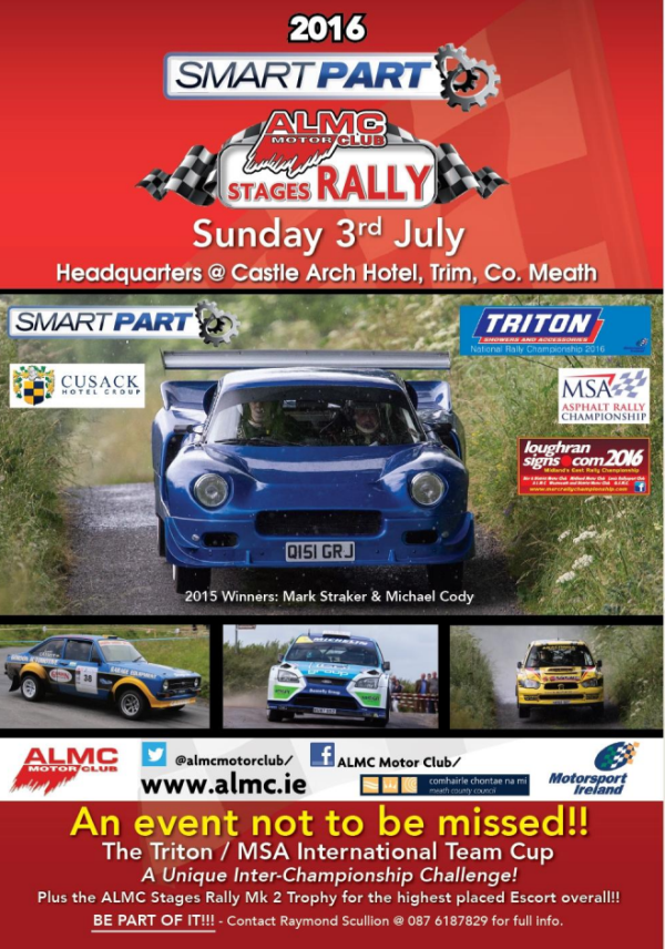 rally.ie - Stories - ALMC Stages Rally - 3 Jul 16