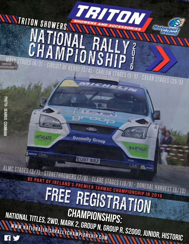 rally.ie - Stories - 2016 National Rally Championship