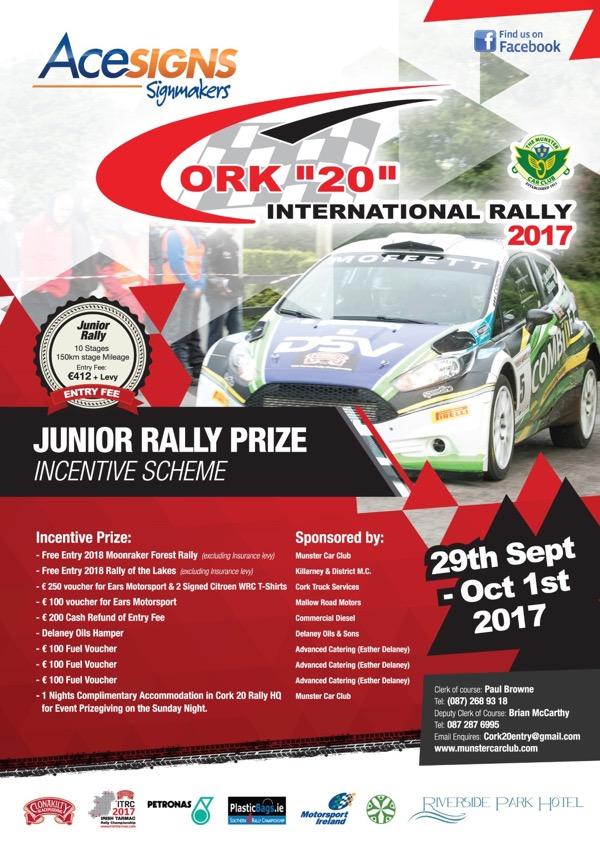 rally.ie - Stories - Cork 20 International Rally - 30 Sep-1 Oct 17
