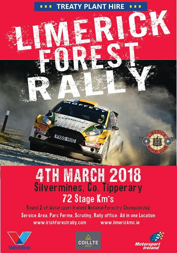 rally.ie - Stories - Limerick Forestry Rally - NEW DATE 25 Mar 18