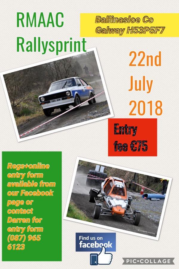 rally.ie - Stories - RMAAC Rallysprint - 22 Jul 18