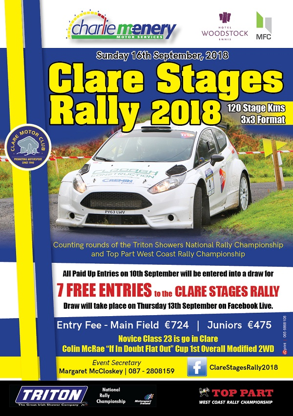 rally.ie - Stories - Clare Stages Rally - 16 Sep 18