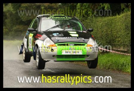 Stolen Ford Ka Rally Car Van Trailer