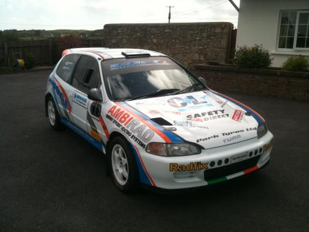 Classified For Sale Honda Civic Rally Car