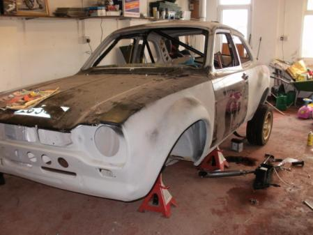 Ford Escort Mk1 Black. 2011 Ford Escort Mk1 Rally