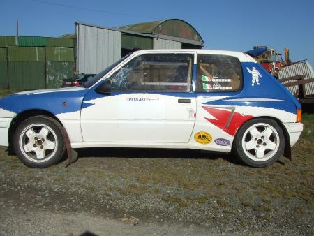 rally.ie - Classified - For Sale: Peugeot 205 Mi16 Rally Car