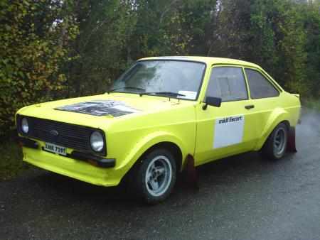 Ford Escort Mk2 Rally Car. For Sale: Ford Escort Mk2