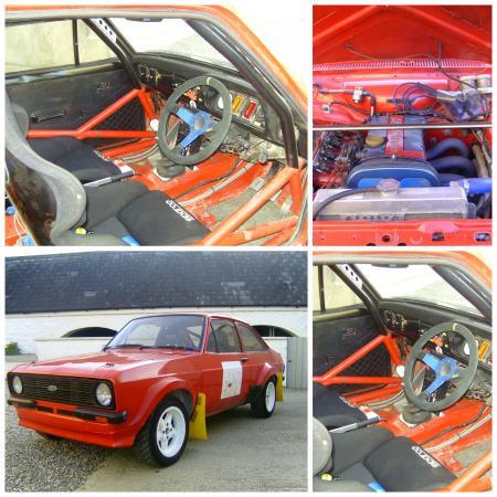Escort MK 1 2 Body Strengthening Kit Plating Kit GP4 Rally Road